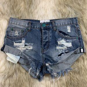 One Teaspoon Bandits Cut Off Shorts